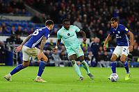 Bright Osayi-Samuel of Queens Park Rangers in action during the Sky Bet Championship match between Cardiff City and Queens Park Rangers at the Cardiff City Stadium in Cardiff, Wales, UK. Wednesday 02 October, 2019