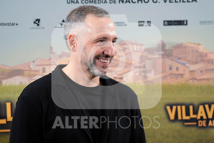 "The director of the film, Nacho Garcia Velilla attends to the presentation of the spanish film "" Villaviciosa de al lado"" in Madrid, Spain. November 29, 2016. (ALTERPHOTOS/BorjaB.Hojas)"