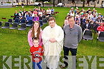 Cillian Horan, Leanne Hanafin,  Fr. Bernard Healy  and Jimmy Rogers and Residents of St. Johns Park Tralee held their Annual Mass on Tuesday