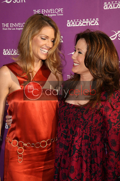 Tricia Helfer and Mary McDonnell<br />