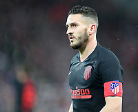 11th March 2020; Anfield, Liverpool, Merseyside, England; UEFA Champions League, Liverpool versus Atletico Madrid;  Saul Ñiguez of Atletico Madrid