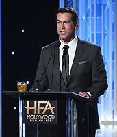 BEVERLY HILLS - NOVEMBER 3: Rob Riggle hosts the 2019 Hollywood Film Awards at the Beverly Hilton on November 3, 2019 in Beverly Hills, California. (Photo by Frank Micelotta/PictureGroup)
