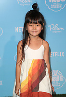 LOS ANGELES, CA - AUGUST 10: Zooey Miyoshi, at the Netflix Series Premiere Of True And The Rainbow Kingdom at the Pacific Theatres at The Grove in Los Angeles, California on August 10, 2017. Credit: Faye Sadou/MediaPunch