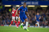 Charly Musonda of Chelsea in action during the Carabao Cup (Football League cup) 23rd round match between Chelsea and Nottingham Forest at Stamford Bridge, London, England on 20 September 2017. Photo by Andy Rowland.