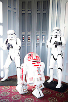 BURBANK - JUN 26: Star Wars characters, Stormtroopers, R2D2 at the 39th Annual Saturn Awards held at Castaways on June 26, 2013 in Burbank, California