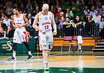 S&ouml;dert&auml;lje 2015-04-10 Basket SM-Semifinal 5 S&ouml;dert&auml;lje Kings - Sundsvall Dragons :  <br /> Sundsvall Dragons Daniel Eliasson deppar under matchen mellan S&ouml;dert&auml;lje Kings och Sundsvall Dragons <br /> (Foto: Kenta J&ouml;nsson) Nyckelord:  S&ouml;dert&auml;lje Kings SBBK T&auml;ljehallen Sundsvall Dragons depp besviken besvikelse sorg ledsen deppig nedst&auml;md uppgiven sad disappointment disappointed dejected