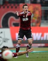 FUSSBALL   1. BUNDESLIGA  SAISON 2012/2013   8. Spieltag 1. FC Nuernberg - FC Augsburg       21.10.2012 Hanno Balitsch (1 FC Nuernberg)