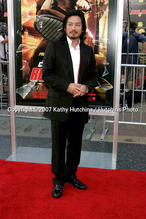"Hiroyuki Sanada.""Rush Hour 3"" Premiere.Grauman's Chinese.Los Angeles, CA.July 30, 2007.©2007 Kathy Hutchins / Hutchins Photo...."