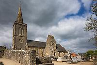 France, Manche (50), Quinéville:  // France, Manche, Quineville: Église Notre-Dame du XIe siècle // France, Manche, Quineville:   church Notre-Dame