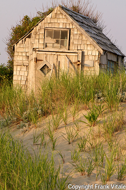 Fishermen's Shack nestled in the Province Lands Dunes of the Cape Cod National Seashore
