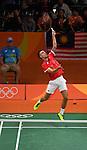12/08/2016 - Badminton mixed doubles - Group B - Pavillion 4 - Riocentro - Rio de Janeiro - Brazil