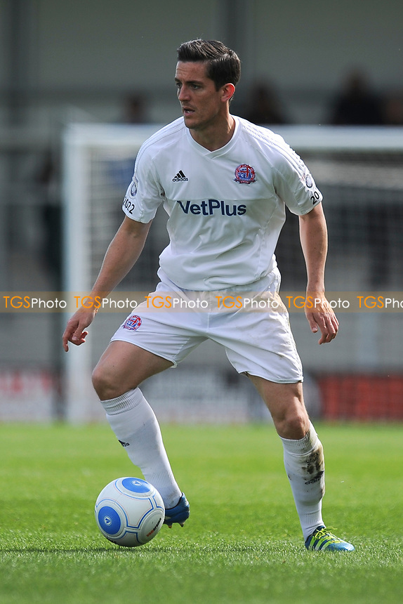Andy Bond of AFC Fylde during AFC Fylde vs Bradford Park Avenue, Vanarama National League North Football at Mill Farm on 17th April 2017