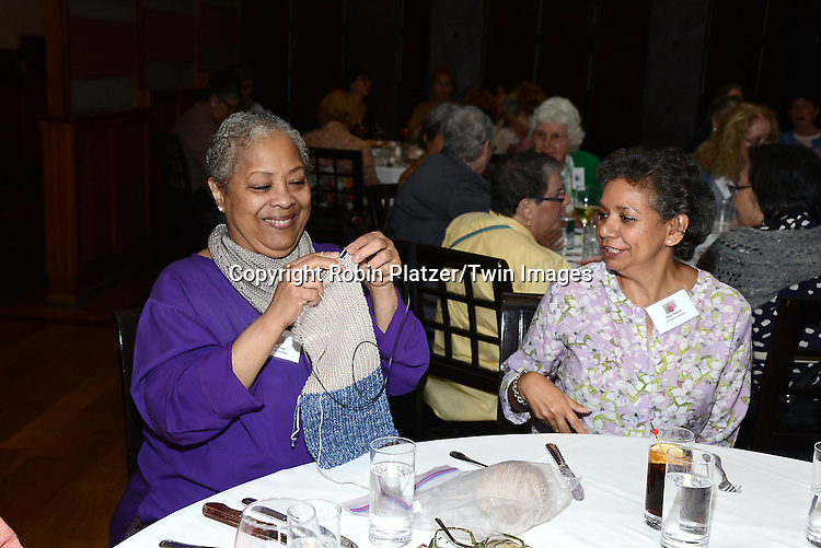 luncheon guests attends the Big Apple Knitters Guild Luncheon on September 20, 2014 at Maloney &amp; Porcelli in New York City.<br /> <br /> photo by Robin Platzer/Twin Images<br />  <br /> phone number 212-935-0770