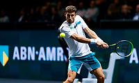 Rotterdam, The Netherlands, 15 Februari 2020, ABNAMRO World Tennis Tournament, Ahoy, <br />  Pablo Carreno Busta (ESP).<br /> Photo: www.tennisimages.com