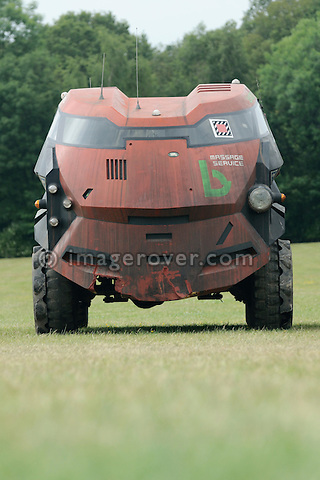 Judge Dredd 101. Dunsfold Collection Open Day 2009. NO RELEASES AVAILABLE.