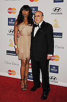 BEVERLY HILLS, CA - FEBRUARY 09: Jennifer Hudson and Clive Davis arrives at the The 55th Annual GRAMMY Awards - Pre-GRAMMY Gala And Salute To Industry Icons Honoring L.A. Reid at the Beverly Hilton Hotel on February 9, 2013 in Beverly Hills, California.PAP0213JP405.PAP0213JP405. Nortephoto