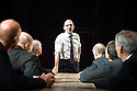 Oedipus by Sophocles,A new version by Frank McGuinness directed by Jonathan Kent.With  Ralph Fiennes as Oedipus.Opens at The Olivier Theatre at The National Theatre on 15/10/08 CREDIT Geraint Lewis