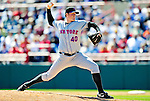 6 March 2010: New York Mets' pitcher Eddie Kunz in action during a Spring Training game against the Washington Nationals at Space Coast Stadium in Viera, Florida. The Mets defeated the Nationals 14-6 in Grapefruit League action. Mandatory Credit: Ed Wolfstein Photo