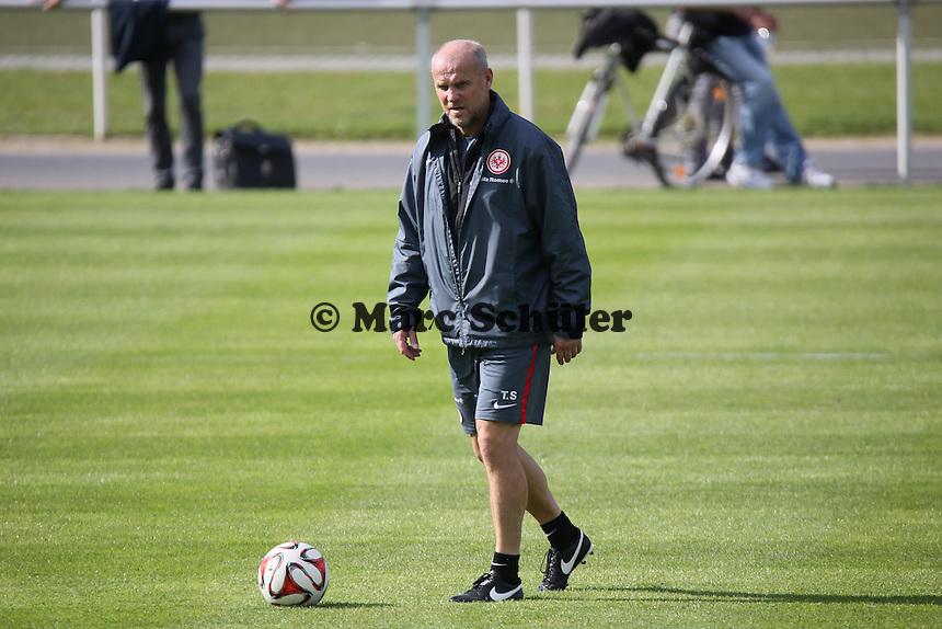 Trainer Thomas Schaaf (Eintracht) - Eintracht Frankfurt Training, Commerzbank Arena