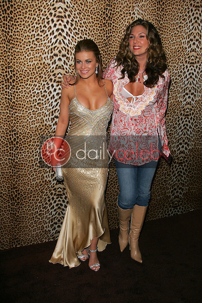 Carmen Electra and Daisy Fuentes