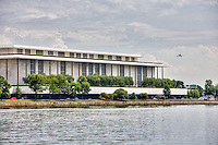 Washington DC Kennedy Center Potomac River