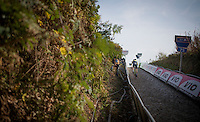 up the final stretch of the infamous Koppenberg<br /> <br /> 25th Koppenbergcross 2016