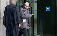 "BNPS.co.uk (01202 558833)<br /> Pic: CorinMesser/BNPS<br /> <br /> Stuart Jones, 54, at Bournemouth Crown Court. <br /> <br /> A former fishery owner has been jailed for the ""barbaric and inhumane"" killing of an otter in the first prosecution of its kind in the UK.<br /> <br /> Stuart Jones, 54, shot the Eurasian otter, which is a protected species, in the head after another fisherman caught it in his carp landing net.<br /> <br /> At the time Jones was the owner of Lyons Gate Campsite and Fishery in Dorchester, Dorset, and had set traps for several otters eating stock from his four fishing lakes.<br /> <br /> Jones was reported by horrified anglers who were staying at the campsite and witnessed the slaughter. <br /> <br /> He later admitted to police that he knew it was illegal and had done his own online research."