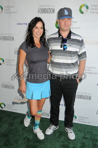 8 June 2015 - Burbank, California - Debbe Dunning, Zachery Ty Bryan. 6th Annual SAG Foundation LA Golf Classic held at Lakeside Golf Club. Photo Credit: Byron Purvis/AdMedia