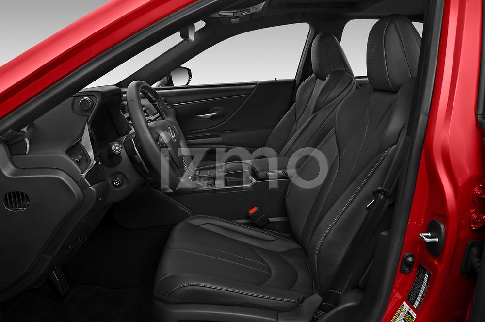Front seat view of 2020 Lexus ES-350 F-Sport 4 Door Sedan Front Seat  car photos