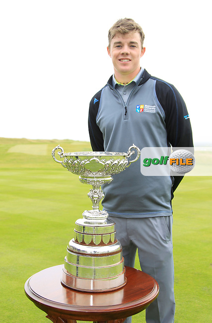 Stuart Grehan (Tullamore) before the Final Round of the South of Ireland Amateur Open Championship at LaHinch Golf Club on Sunday 26th July 2015.<br /> Picture:  Golffile | Thos Caffrey