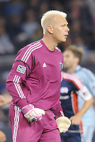 Jimmy Nielsen Sporting KC goalkeeper... Sporting Kansas City defeated New England Revolution 3-0 at LIVESTRONG Sporting Park, Kansas City, Kansas.