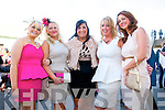 Ladies Day Listowel Races : Pictured at Ladies Day in Listowel ofn Friday last were Ciara Collins, Elaine Marie Collins, Noreen Galvin, Gemma Brosnan & Treasa Murphy from Abbeyfeale.