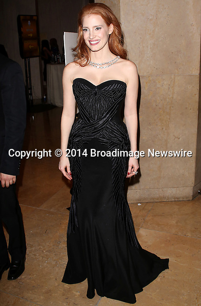 Pictured: Jessica Chastain<br /> Mandatory Credit &copy; Frederick Taylor/Broadimage<br /> HBO's Post 2014 Golden Globe Awards Party - Arrivals<br /> <br /> 1/12/14, Los Angeles, California, United States of America<br /> <br /> Broadimage Newswire<br /> Los Angeles 1+  (310) 301-1027<br /> New York      1+  (646) 827-9134<br /> sales@broadimage.com<br /> http://www.broadimage.com
