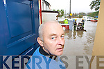 John O'Sullivan of the Munster Bar looks out at the Flooding at Ballymullen Tralee on Thursday