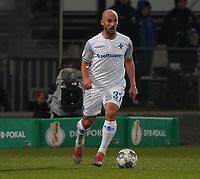 Patrick Herrmann (SV Darmstadt 98) - 29.10.2019: SV Darmstadt 98 vs. Karlsruher SC, Stadion am Boellenfalltor, 2. Runde DFB-Pokal<br /> DISCLAIMER: <br /> DFL regulations prohibit any use of photographs as image sequences and/or quasi-video.