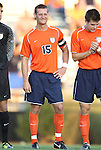 09 September 2011: Virginia's Mike Volk. The University of Virginia Cavaliers defeated the Duke University Blue Devils 1-0 at Koskinen Stadium in Durham, North Carolina in an NCAA Division I Men's Soccer game.