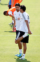 Khedira during Real Madrid´s first training session of 2013-14 seson. July 15, 2013. (ALTERPHOTOS/Victor Blanco) ©NortePhoto