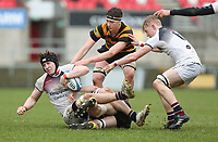 Wednesday 7th March 2018 |  RBAI vs Royal School Armagh<br /> <br /> Ryan O&rsquo;Neill during the Ulster Schools Cup Semi-Final between RBAI vs Royal School Armagh Stadium, Ravenhill Park, Belfast, Northern Ireland. Photo by John Dickson / DICKSONDIGITAL