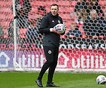 Darren Ward Sheffield Utd coach during the championship match at the Bramall Lane Stadium, Sheffield. Picture date 28th April 2018. Picture credit should read: Simon Bellis/Sportimage