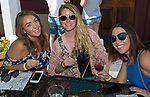 Colleen, Sarah and Kelly during the Reno Wine Walk in downtown Reno on Saturday, June 17, 2017.