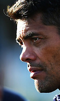 Warriors coach Stephen Kearney.<br /> Vodafone Warriors training session. Mt Smart Stadium, Auckland, New Zealand. NRL Rugby League. Wednesday 9 May 2018 &copy; Copyright photo: Andrew Cornaga / www.photosport.nz