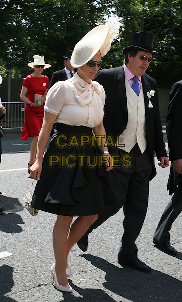 4ec4c8a4ab3 ZARA PHILLIPS.arriving for Day One of Royal Ascot