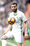 Real Madrid's Nacho Fernandez during La Liga match. February 18,2017. (ALTERPHOTOS/Acero)