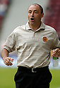 12/08/2006        Copyright Pic: James Stewart.File Name : sct_jspa21_motherwell_v_aberdeen.MOTHERWELL MANAGER MAURICE MALPAS WATCHES HIS SIDE BEING BEATEN BY ABERDEEN.......Payments to :.James Stewart Photo Agency 19 Carronlea Drive, Falkirk. FK2 8DN      Vat Reg No. 607 6932 25.Office     : +44 (0)1324 570906     .Mobile   : +44 (0)7721 416997.Fax         : +44 (0)1324 570906.E-mail  :  jim@jspa.co.uk.If you require further information then contact Jim Stewart on any of the numbers above.........