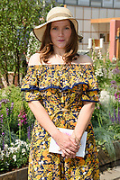 Jessica Hynes<br /> at the Chelsea Flower Show 2018, London<br /> <br /> ©Ash Knotek  D3402  21/05/2018