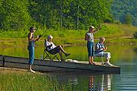 Fishing with friends<br />Arrowhead Provincial Park<br />Ontario<br />Canada
