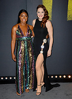 Ester Dean &amp; Shelley Regner at the world premiere of &quot;Pitch Perfect 3&quot;  at the TCL Chinese Theatre, Hollywood, USA 12 Dec. 2017<br /> Picture: Paul Smith/Featureflash/SilverHub 0208 004 5359 sales@silverhubmedia.com