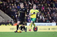 George Saville of Millwall runs with the ball during Norwich City vs Millwall, Sky Bet EFL Championship Football at Carrow Road on 1st January 2018