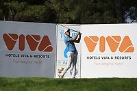 Matthew Jordan (ENG) on the 6th tee during Round 1 of the Challenge Tour Grand Final 2019 at Club de Golf Alcanada, Port d'Alcúdia, Mallorca, Spain on Thursday 7th November 2019.<br /> Picture:  Thos Caffrey / Golffile<br /> <br /> All photo usage must carry mandatory copyright credit (© Golffile | Thos Caffrey)