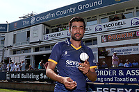 New Essex signing Mohammad Amir poses for a photograph during Essex CCC vs Warwickshire CCC, Specsavers County Championship Division 1 Cricket at The Cloudfm County Ground on 19th June 2017